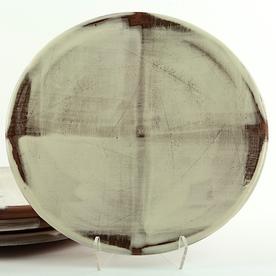 """Zak Helenske Zak Helenske, Dinner Plate, terracotta, porcelain, 9.5"""""""