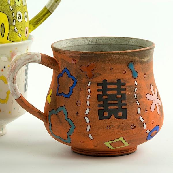 """Masa Sasaki Masa Sasaki, Buddha Mug, 4 x 4"""""""