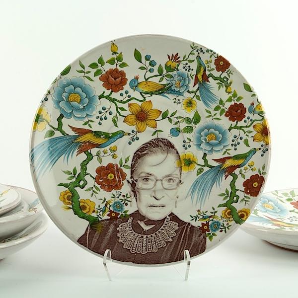 Justin Rothshank Justin Rothshank, Small Decorative Plate, Bader Ginsburg
