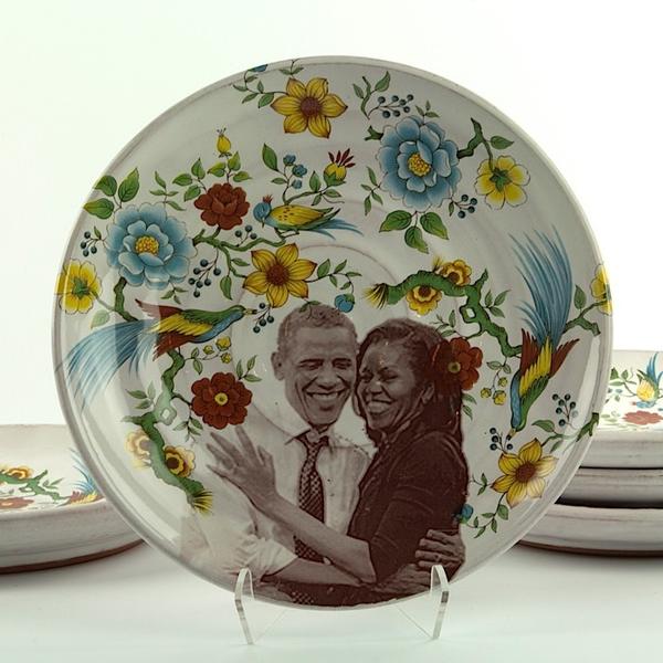 "Justin Rothshank Justin Rothshank, Small Decorative Plate, 8.25"""