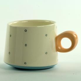 """Jessie Bean Jessie Bean, Tilt Mug, 3 x 3.75"""""""