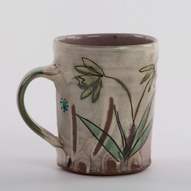 "Maria Dondero Maria Dondero, Mug, earthenware, 4.75"""