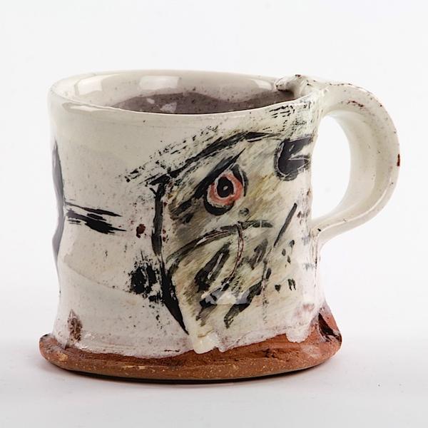 """Ron Meyers Ron Meyers, Mug, earthenware, 2.5 x 3"""""""