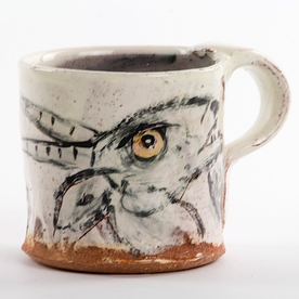 """Ron Meyers Ron Meyers, Mug, earthenware, 3.25 x 3.25"""""""