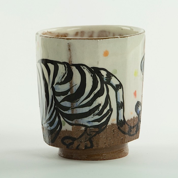 Sunkoo Yuh Sunkoo Yuh, Tiger Cup, wheel thrown stoneware