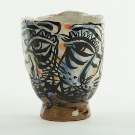 Sunkoo Yuh Sunkoo Yuh, Tiger Cup, handbuilt stoneware