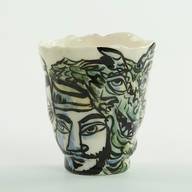 Sunkoo Yuh Sunkoo Yuh, Cup, handbuilt translucent porcelain