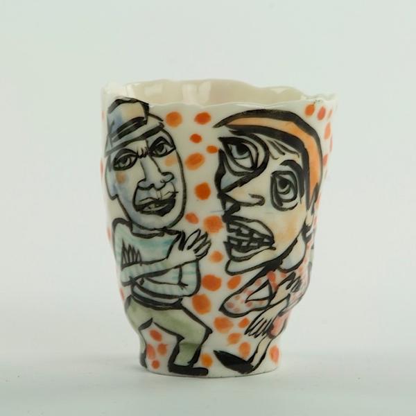 Sunkoo Yuh Sunkoo Yuh, Cup, handbuilt translucent porcelain