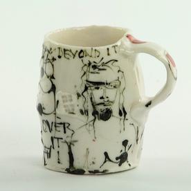 """Ted Saupe Ted Saupe, Demitasse, handbuilt porcelain, 3"""""""