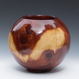Philip Moulthrop Philip Moulthrop, Cored Red Cedar, 10.5 x 12.25