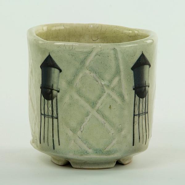 """Dan Anderson Dan Anderson, Yunomi, stoneware, sodafired, 4 1/8 x 3 3/4"""""""