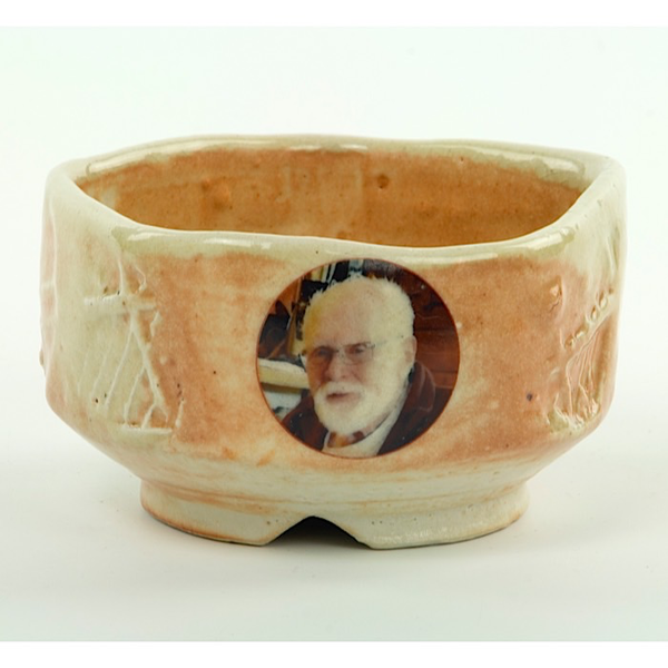 Dan Anderson Dan Anderson, Five-sided Bowl, Mac, stoneware, woodfired, 2 5/8 x 4 1/2""