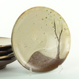 "Minsoo Yuh Minsoo Yuh, Small Plate, stoneware, 1.5 x 8.5"""