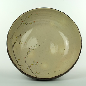 "Minsoo Yuh Minsoo Yuh, Large Bowl, stoneware, 5.25 x 14.25"""