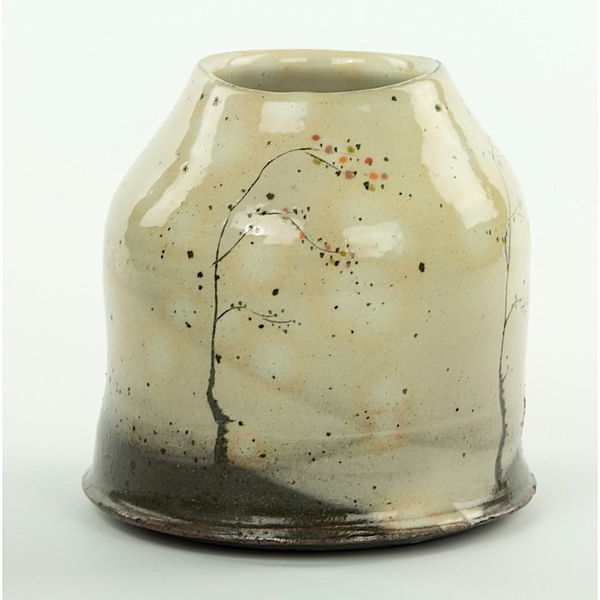 "Minsoo Yuh Minsoo Yuh, Vase, stoneware, 5.5 x 5.25"""