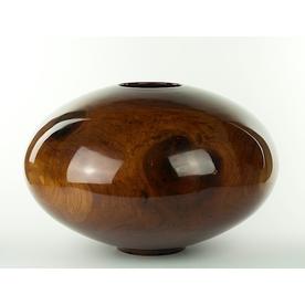"Philip Moulthrop, Wild Cherry, Western Woods, Booth Museum, 12.5 x 19"""