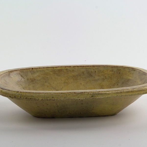 Joe Pintz Joe Pintz, Medium Oblong Dish, handbuilt earthenware, 8.5 x 5.75 x 1.75""