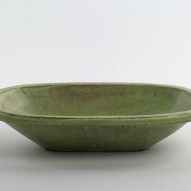 "Joe Pintz Joe Pintz, Medium Oblong Dish, handbuilt earthenware, 8.5 x 5.75 x 1.75"""