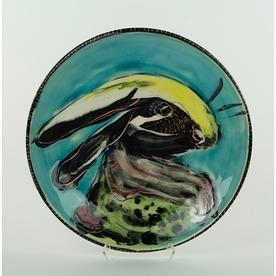 """Bernadette Curran Bernadette Curran, Dinner Plate, porcelain, 10.25"""""""