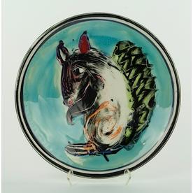 """Bernadette Curran Bernadette Curran, Lunch Plate, porcelain, 8.75"""""""