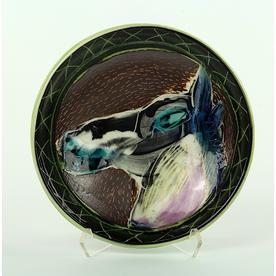 """Bernadette Curran Bernadette Curran, Dessert Plate, porcelain, 6.25"""""""