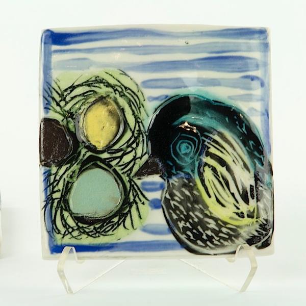 "Bernadette Curran Bernadette Curran, Tile, porcelain, 4 x 4"""