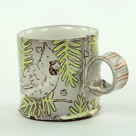 "Tessein and Ritter Grace Tessein/Dennis Ritter, Mug, earthenware, 3.25 x 4.5 x 3.25"""