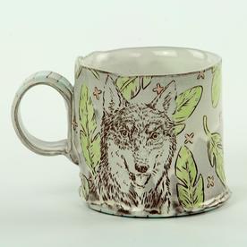 "Tessein and Ritter Grace Tessein/Dennis Ritter, Mug, earthenware, 3.25 x 4.75 x 3.25"""