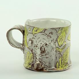 "Tessein and Ritter Grace Tessein/Dennis Ritter, Mug, earthenware, 3 x 4.5 x 3.5"""