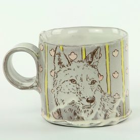 "Tessein and Ritter Grace Tessein/Dennis Ritter, Mug, earthenware, 3 x 4.5 x 3"""
