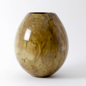 """Philip Moulthrop Philip Moulthrop, Silver Maple, 10 x 9"""" diameter"""