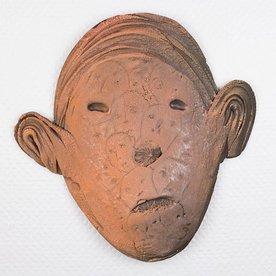 "Andy Nasisse, Head Platter, 13.5 x 14 x 2"""