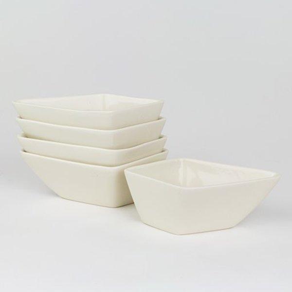 """Rachel Garceau, Star Server(5 parts),  Porcelain, glaze, 11 x 11"""""""