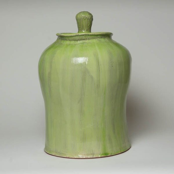 "Matt Kelleher Matt Kelleher, Jar, soda-fired earthenware, 16.5 x 11"""