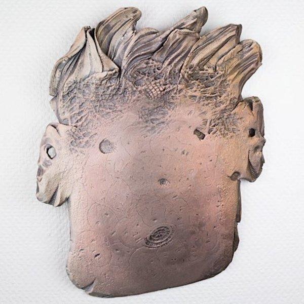 "Andy Nasisse Andy Nasisse, Head Platter, 20 x 16 x 2"""