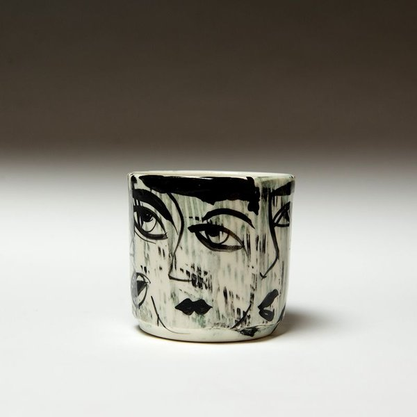 """Sunkoo Yuh Sunkoo Yuh, Yunomi, porcelain, 4.75 x 4"""""""