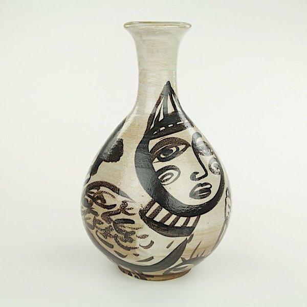 "Sunkoo Yuh Sunkoo Yuh, Tall Vase, 12 x 7.75"" dia"