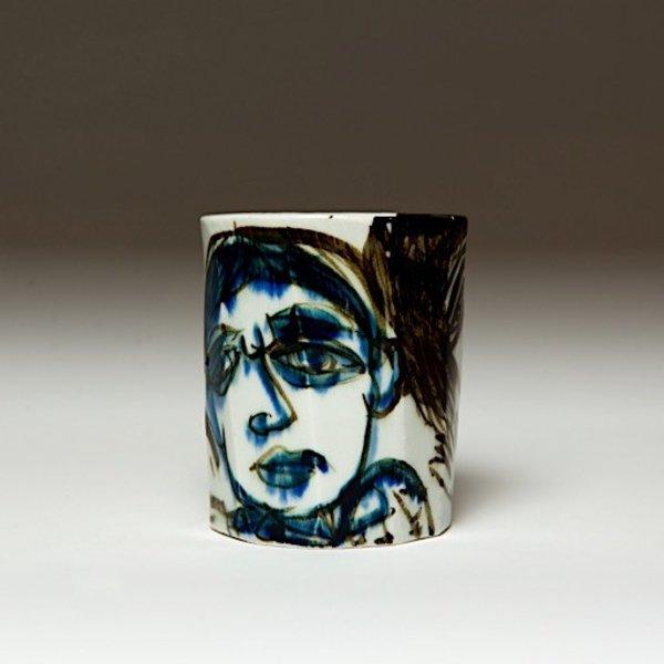 "Sunkoo Yuh Sunkoo Yuh, Cup, porcelain, glaze, 4.5 x 3.5"""