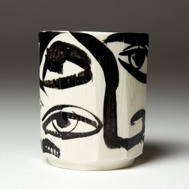 "Sunkoo Yuh Sunkoo Yuh, Cup, porcelain, glaze, 4.75 x 3.75"""