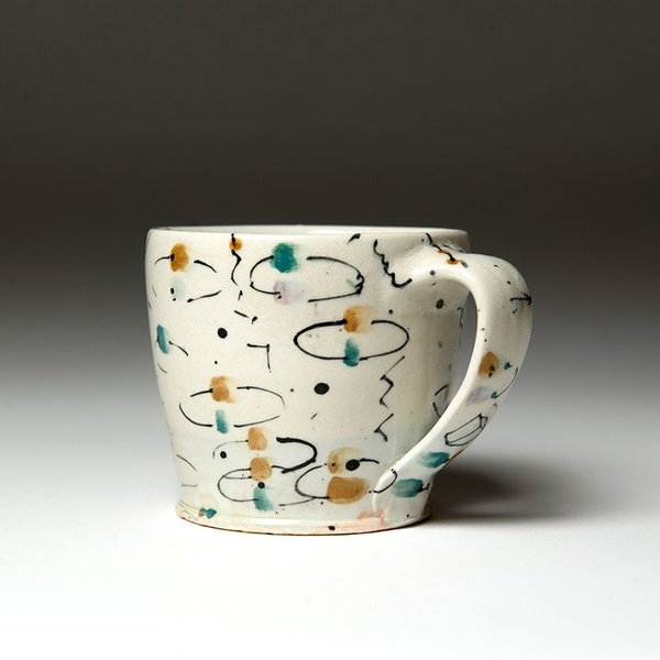 Ted Saupe Ted Saupe,  Mug, earthenware, 3.25 x 4.75 x 3.5""