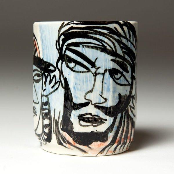 "Sunkoo Yuh Sunkoo Yuh, Cup, porcelain, glaze, 3.5 x 3.75"""