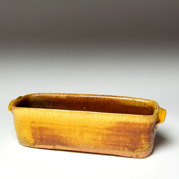 Michael Simon Michael Simon, Rectangle Dish, earthenware, 2.75 x 9.75 x 3.5""