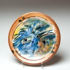 "Ron Meyers Ron Meyers, Small Plate, Bird, 9"""