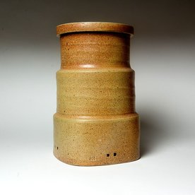 Michael Simon Michael Simon, Persian Jar, stoneware, glaze, slip, salt-fired, 11.75 x 7.5 x 7.5""
