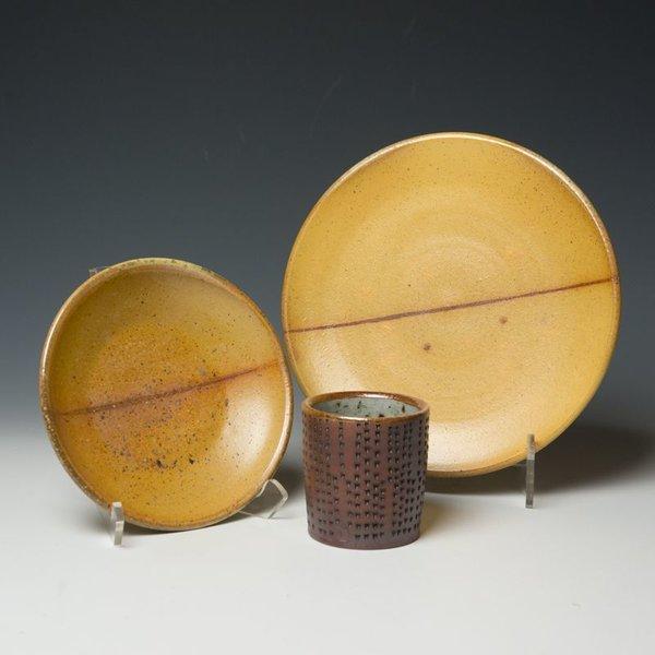 Nancy Green Nancy Green, Lunch Plate, soda-fired stoneware
