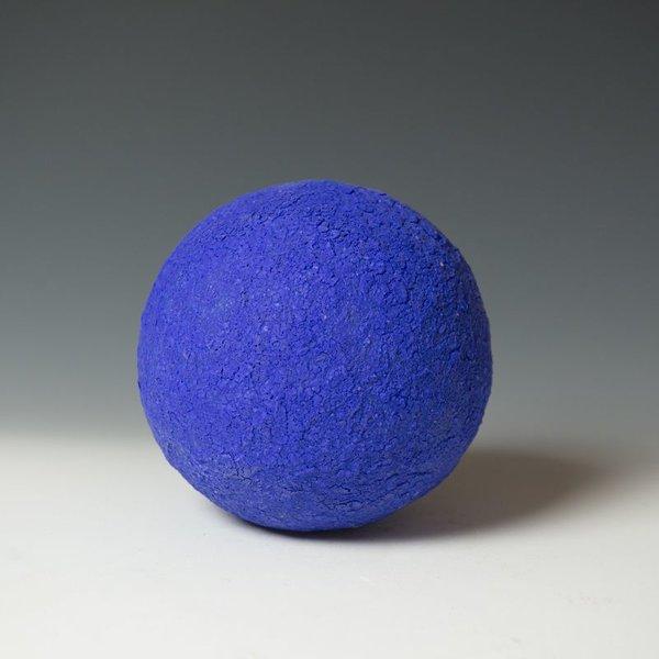 """Virginia Scotchie Virginia Scotchie, Wall Sphere, ceramic, glaze, 9.5 x 6"""""""