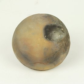 Josh Copus Josh Copus, Small Pixel, woodfired wild harvested clay,  4.25 x 2""
