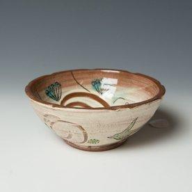 "Maria Dondero Maria Dondero, Bowl, earthenware, 2 x 4.75"""