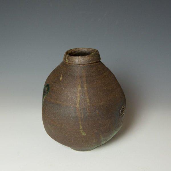 """Shadow May Shadow May, Vase, stoneware, glaze, 8.25 x 7"""" dia"""