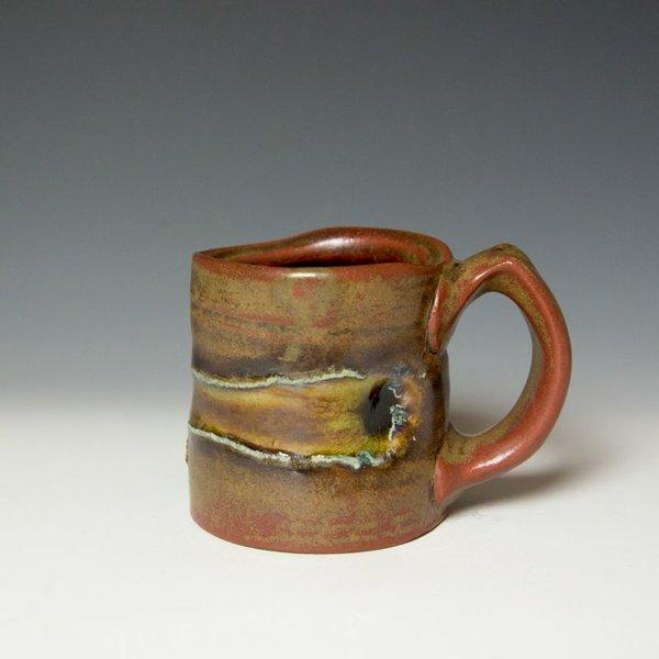 "Shadow May Shadow May, Mug, stoneware, glaze, 3.75 x 5 x 3.5"""